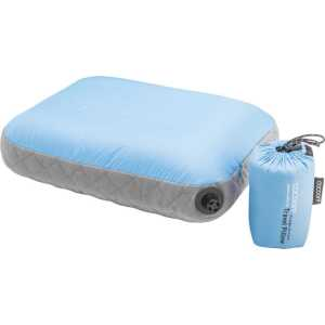 Cocoon Air Core Ultralight Travel Pillow - Light Blue/Grey