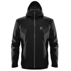 Haglofs Mens Esker Waterproof Jacket - True Black
