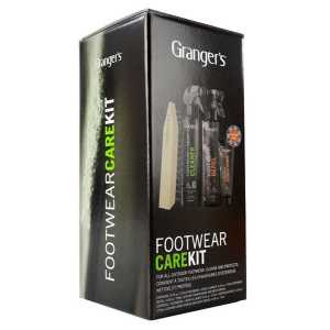 Grangers Footwear Care Kit + Free Leather Conditioner