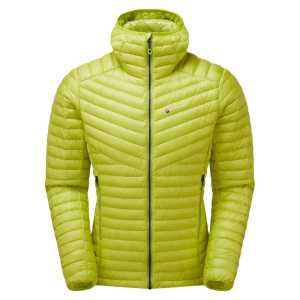 Montane Future Lite Down Hoodie Jacket - Citrus Green