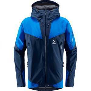 Haglofs Mens Roc Spire Gore-Tex Waterproof Jacket - Tarn Blue/Storm Blue