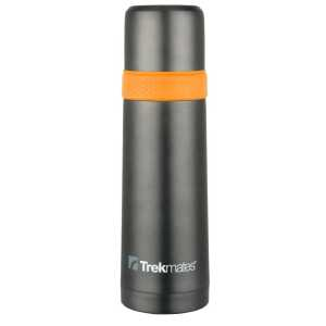 Trekmates 700ml Vacuum Flask With Cup - Orange