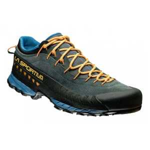 La Sportiva TX4 Approach Shoes - Blue/Papaya