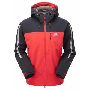 Mountain Equipment Vulcan MRT Softshell Jacket - Imperial Red/Black