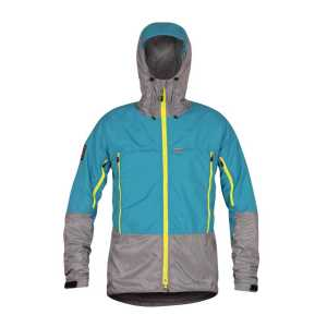 Paramo Mens Velez Waterproof Jacket - Neon Blue/Steel