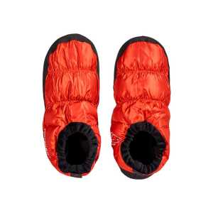 Nordisk Mos Down Slippers/Tent Shoes - Red