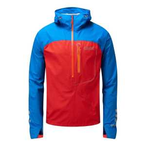 OMM Aether Waterproof eVent Smock - Blue/Red
