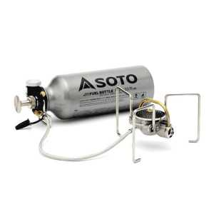 Soto Muka Liquid Fuel Stove + 1000ml Fuel Bottle