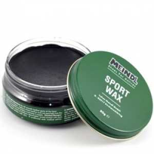 Meindl Sportwax for Leather - Black