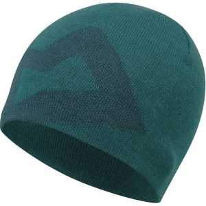 Mountain Equipment Branded Knitted Beanie Hat - Spruce/Deep Teal
