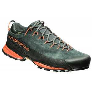 La Sportiva TX4 GTX Approach Shoes - Carbon/Flame
