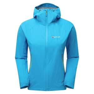 Montane Womens Minimus Stretch Ultra Waterproof Jacket - Cerulean Blue