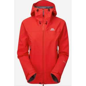 Mountain Equipment Womens Shivling GTX Pro Waterproof Jacket - Imperial Red