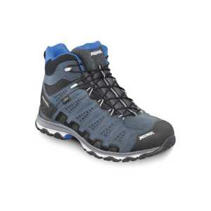 Meindl X-SO 70 Mid Gore-Tex Surround Boots - Anthracite/Blue