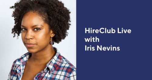 HireClub Live with Iris Nevins