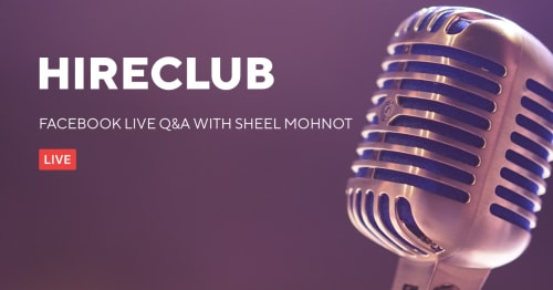 HireClub Live with Sheel Mohnot