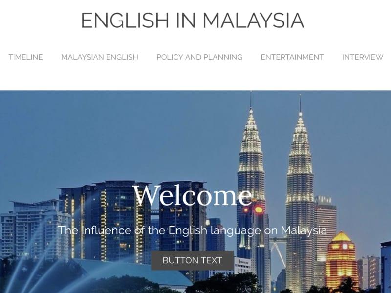 English's Influence in Malaysia