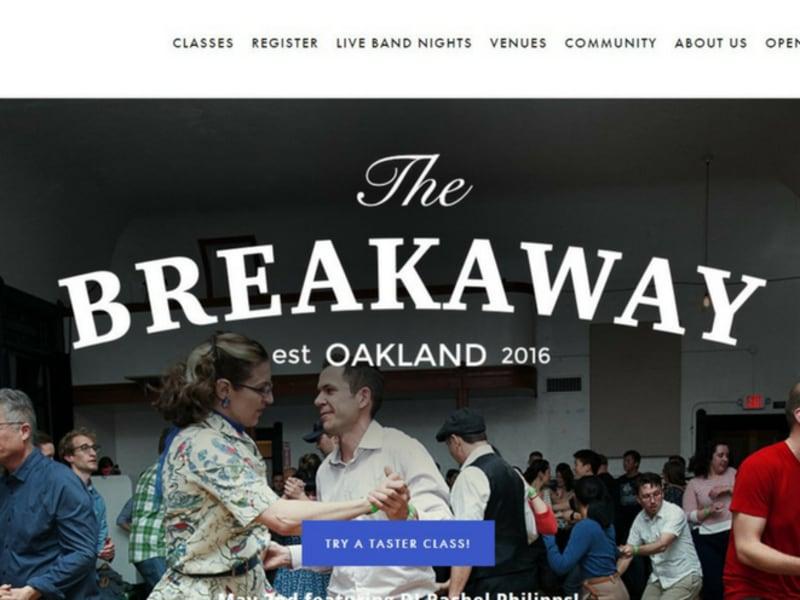 The Breakaway // Website