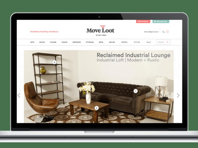 Move Loot UX Design