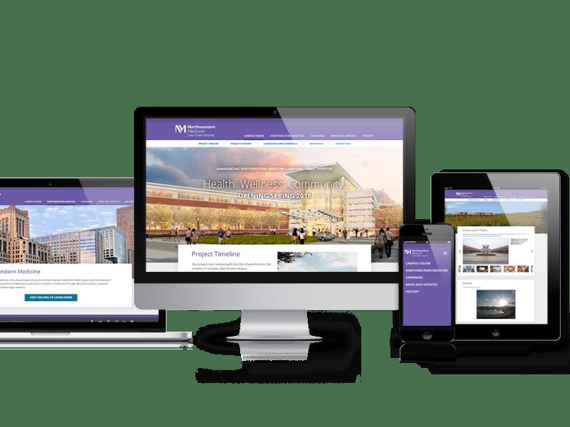 Northwestern Medicine: Site Redesign