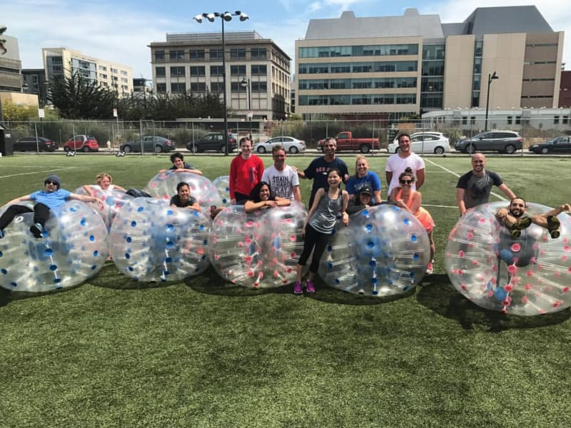 Bubble Soccer w/ Adventures in Common