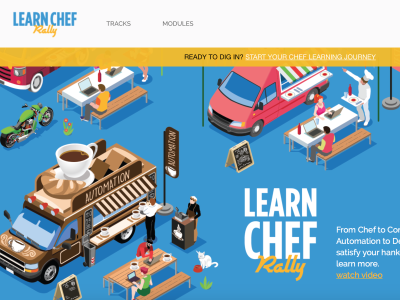 learn.chef.io Site Design and Development