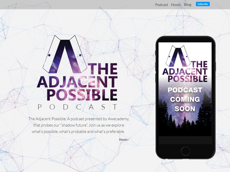 The Adjacent Possible Podcast