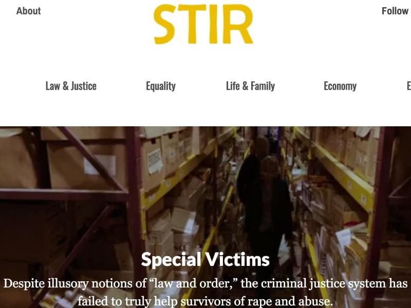 Security Audit and Migration for STIR Journal