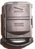 Празна автомобилна кутийка за OPEL с 2-бутона
