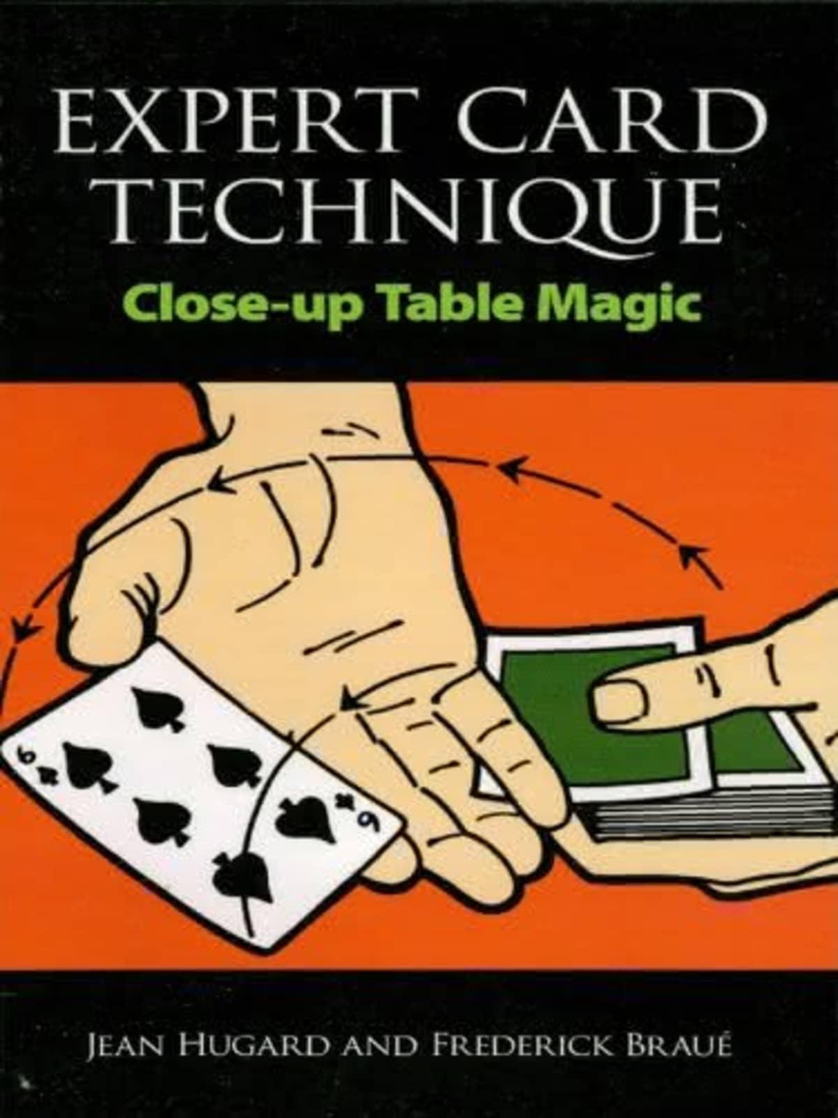 Book-Expert Card Technique Close up. Images