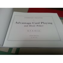 Advantage Card Playing and Draw Poker