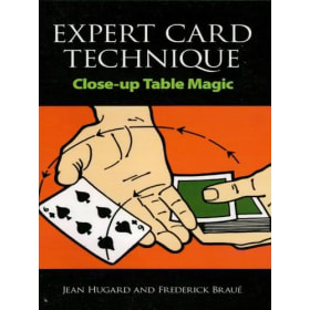 Book-Expert Card Technique Close up