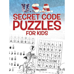 BOOK-USA SECRET CODE PUZZLE