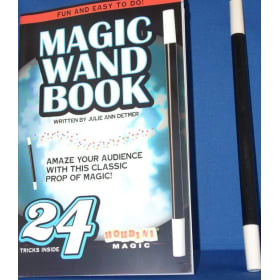 Magic Wand Set with Book