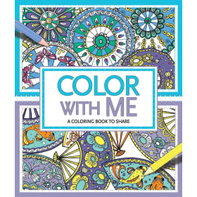 Color with me: A coloring book to share - Book