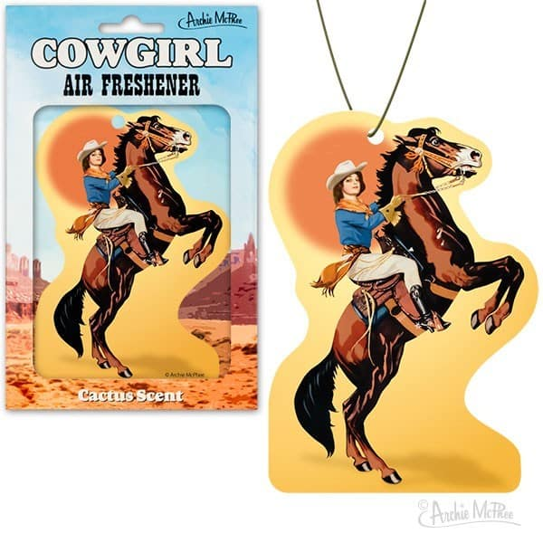 Air Freshener Cowgirl