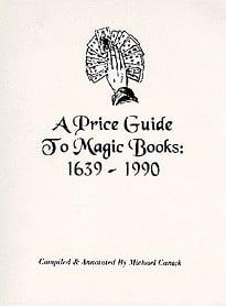 Book-A Price Guide to Magic