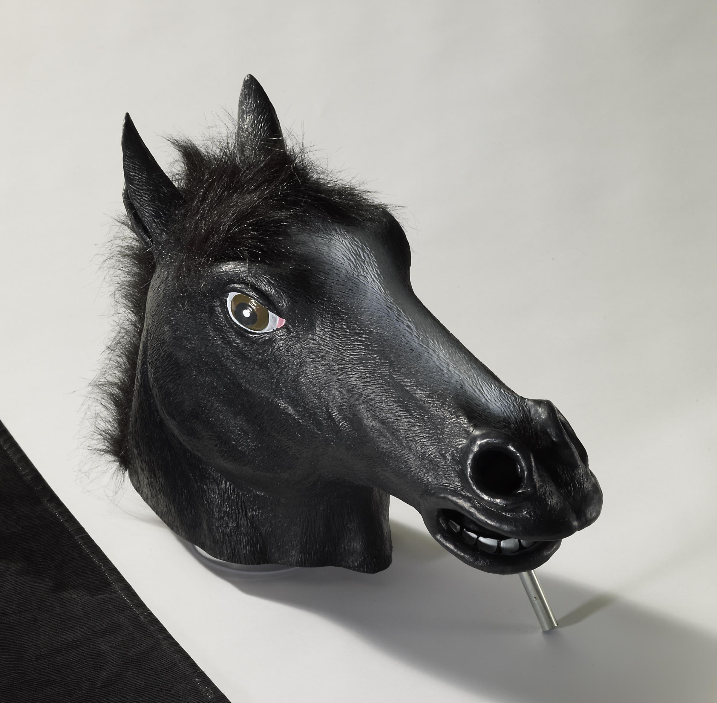 MASK-HORSE BLACK