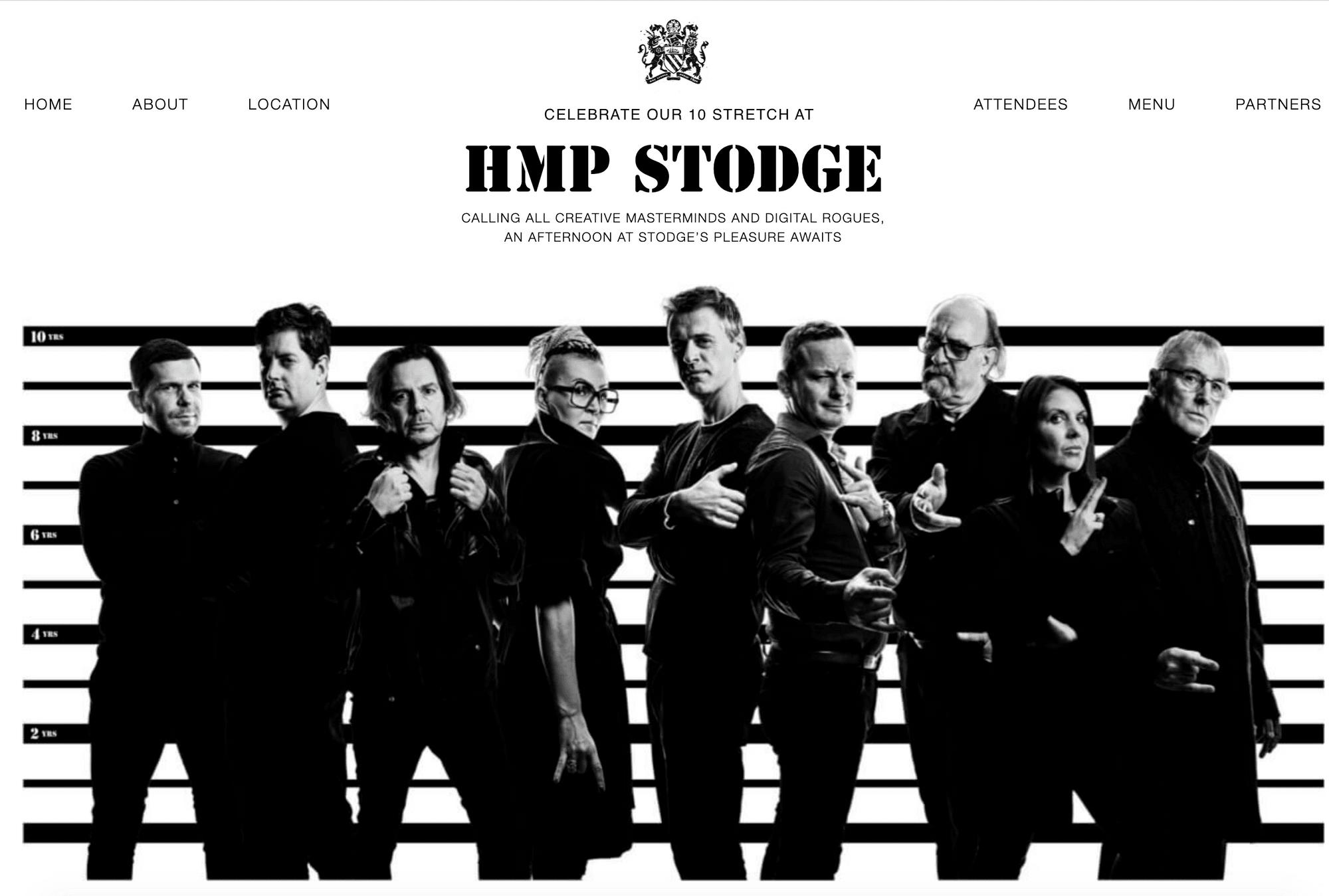 Stodge Podge 10th birthday branding
