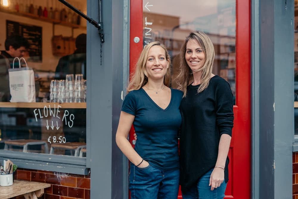 """Friends and """"spiritual buddies"""" Saasha Celestial-One and Tessa Clarke co-founded Olio"""