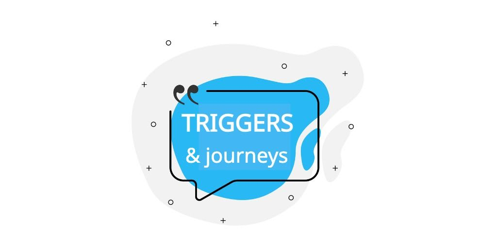 How to associate TRIGGERS with typical social media and digital marketing JOURNEYS