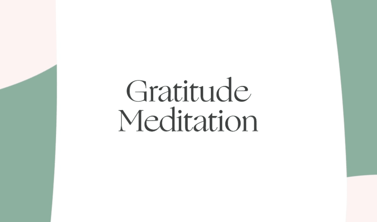 Take a Deep Breath. And Give Thanks.