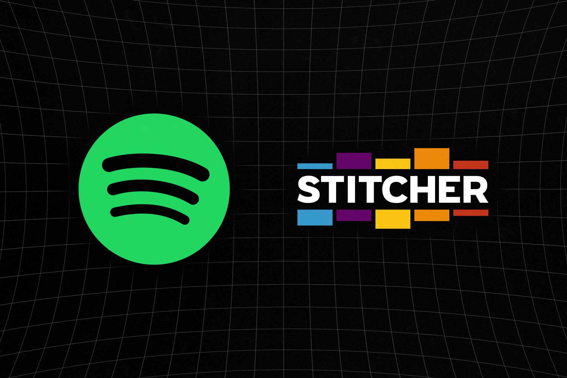 Spotify and Stitcher badges for everyone!
