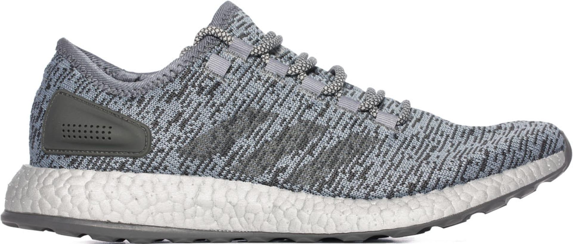 adidas Originals. PureBOOST LTD - Grey Dark Grey Heather Solid Grey Clear  Grey 12f83d8e6