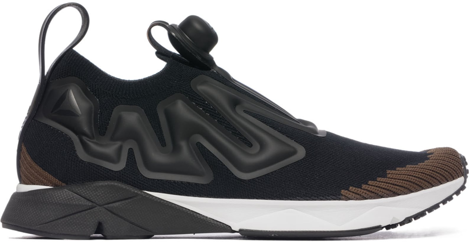 0828773e9c67bb Reebok  Pump Supreme Ultraknit - Black Moss White