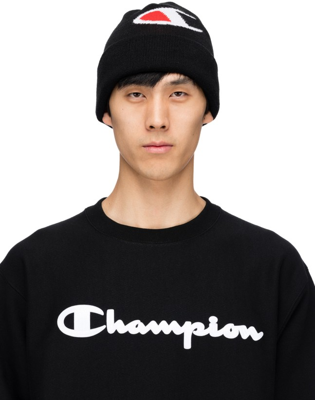 Champion  C Knit Beanie - Black  28519705746