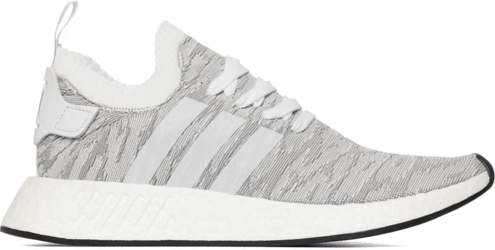 huge selection of 3dae9 80776 adidas Originals - NMD R2 Primeknit - Grey/Footwear White/Core Black/Future  Harvest