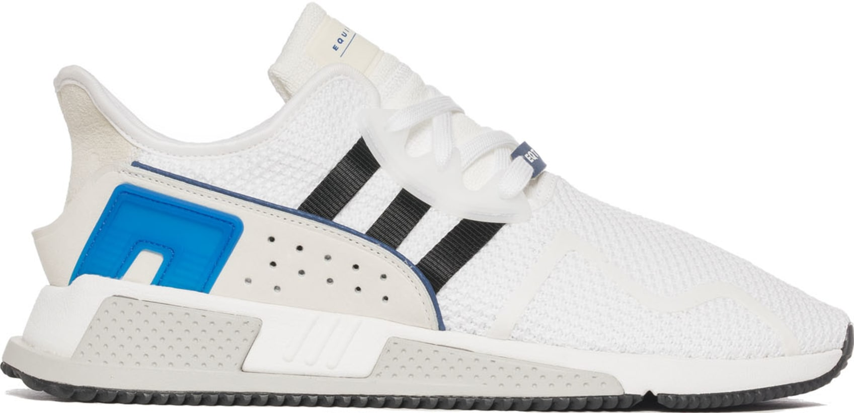 79f24d8a6ce5 adidas Originals. EQT Cushion ADV - Cloud White Core Black Collegiate Royal