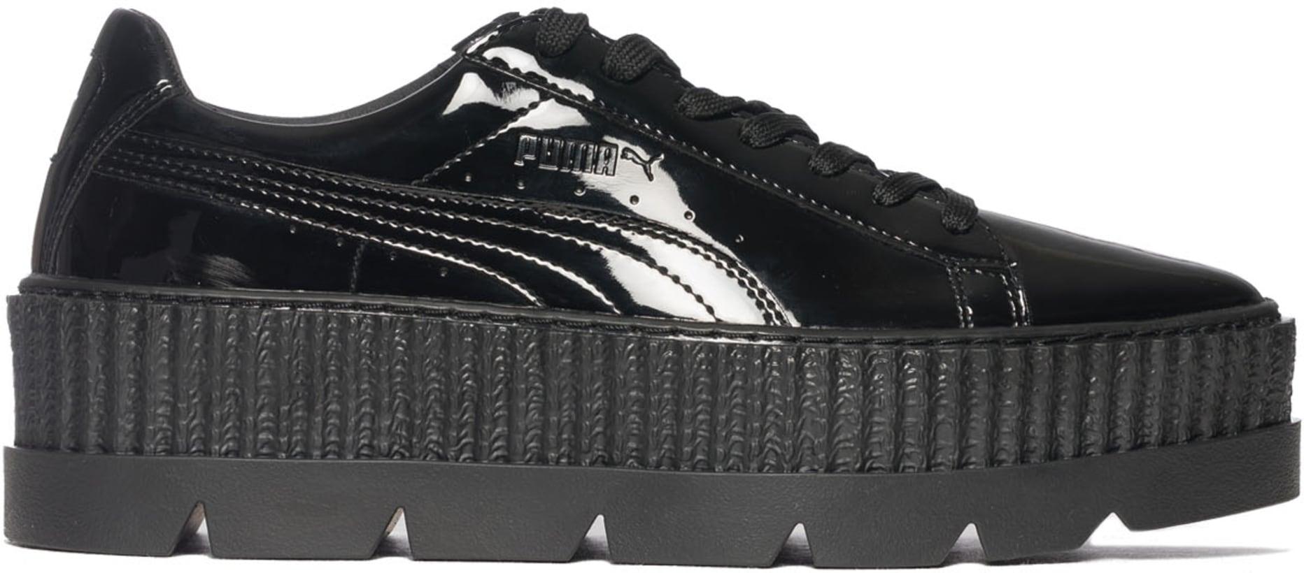 sports shoes 7a287 f5ddc Puma - Fenty Pointy Creeper Patent - Black