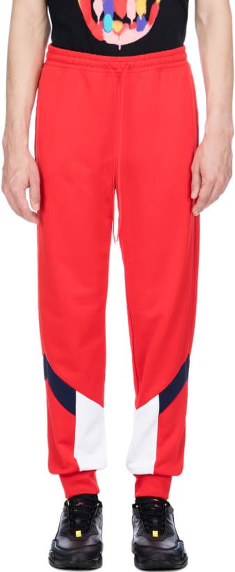 aa3d8ca7be Puma: Iconic MCS Track Pants - High Risk Red | influenceu